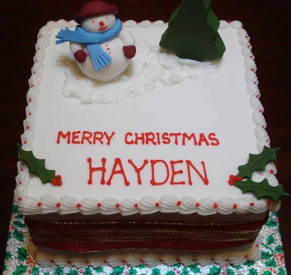 Celebration Cake Christmas